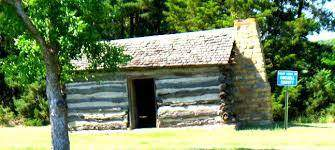 First house built in Russell County in Luray, KS