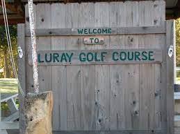 Luray Public Golf Course entrance sign