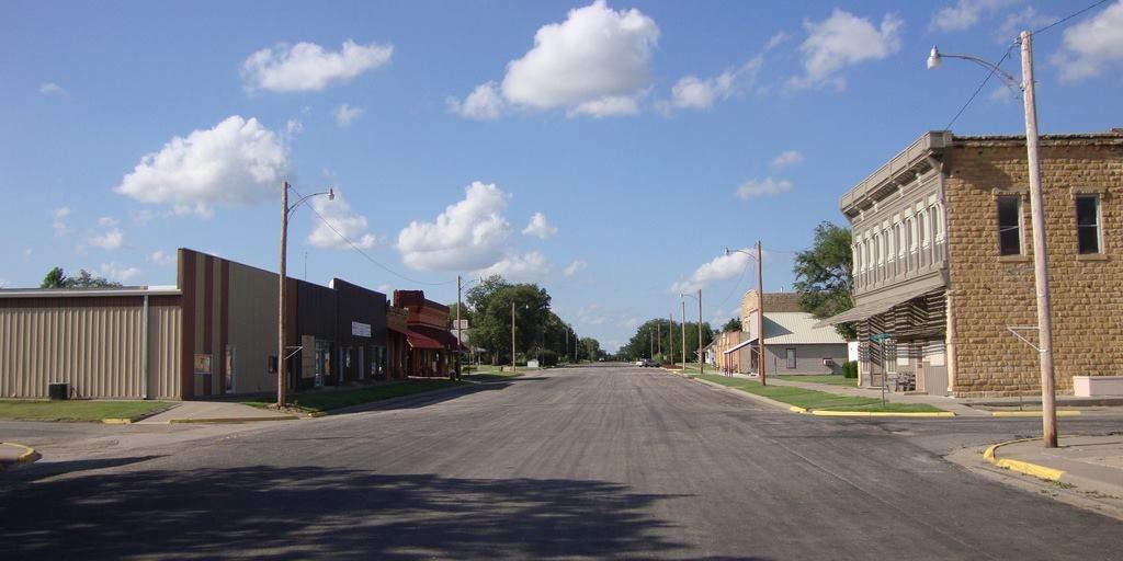 Downtown Luray, KS